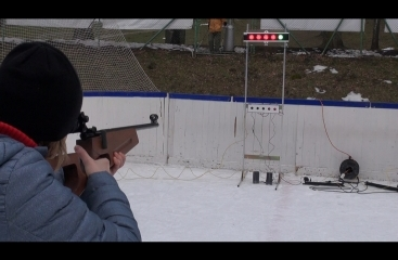 Biathlon on ice